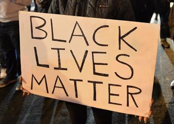 cropped black lives matter sign