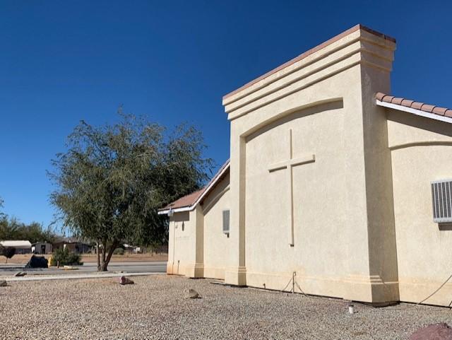 Holy Apostolic Church, exterior